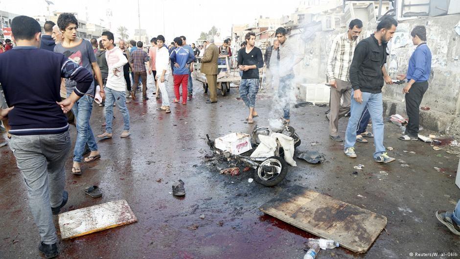 Відповідальність за вибухи в столиці Іраку взяли на себе терористи так званої Ісламської держави.
