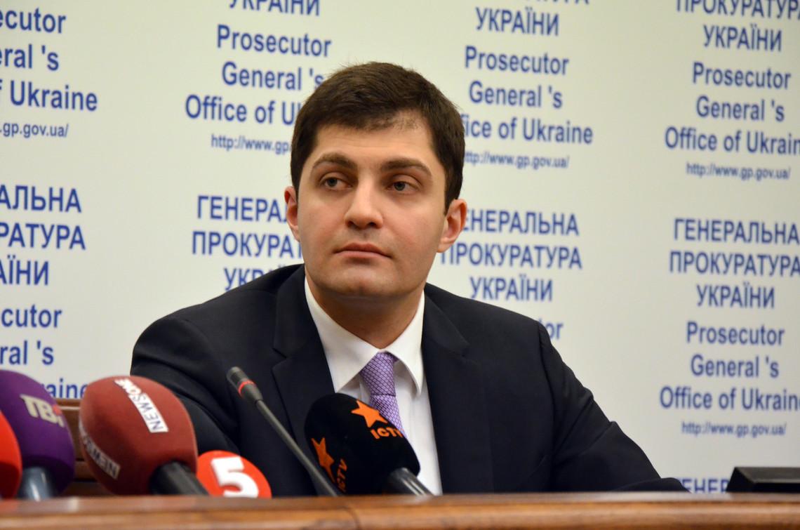 За словами Сакварелідзе, наступним етапом реформи Генпрокуратури стане виведенням українських прокурорів на аутсорсинг.