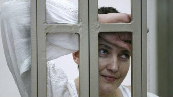 Прокуратура РФ просить засудити народного депутата від фракції Батьківщини Надію Савченко до 23 років позбавлення волі