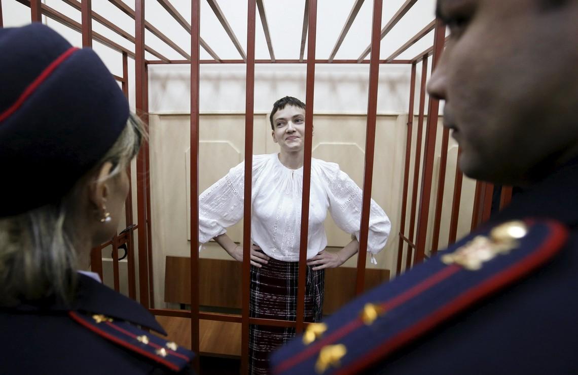 В Донецькому суді Росії відбувається судове засідання щодо винесення остаточного вироку українській льотчиці Надії Савченко. Онлайн-трансляція