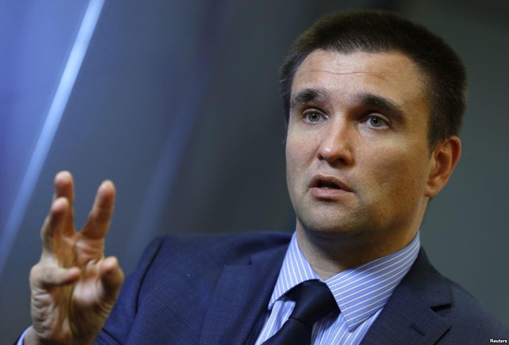 Міністр закордонних справ України Павло Клімкін не погодився із заявою президента Єврокомісії Юнкера про вступ України до ЄС.