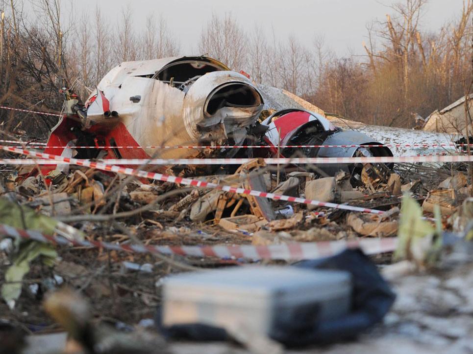Слідчий комітет Росії не має наміру віддавати Польщі уламки літака, який розбився в 2010 році.