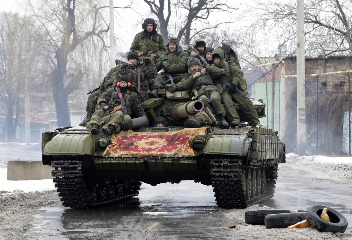 Проросійські бандформування порушують домовленості режиму припинення вогню та відведення важкої зброї.