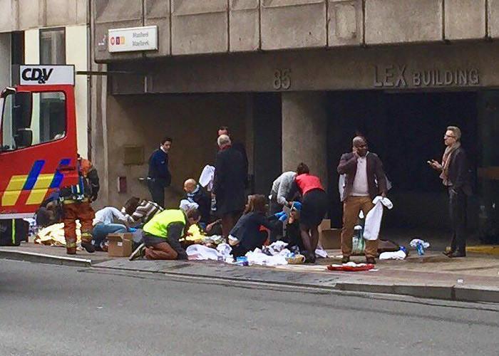 Жертвами терактів у бельгійському Брюсселі стали вже 34 людини, 136 – постраждали, повідомляють у місцевому інформаційному агентстві.
