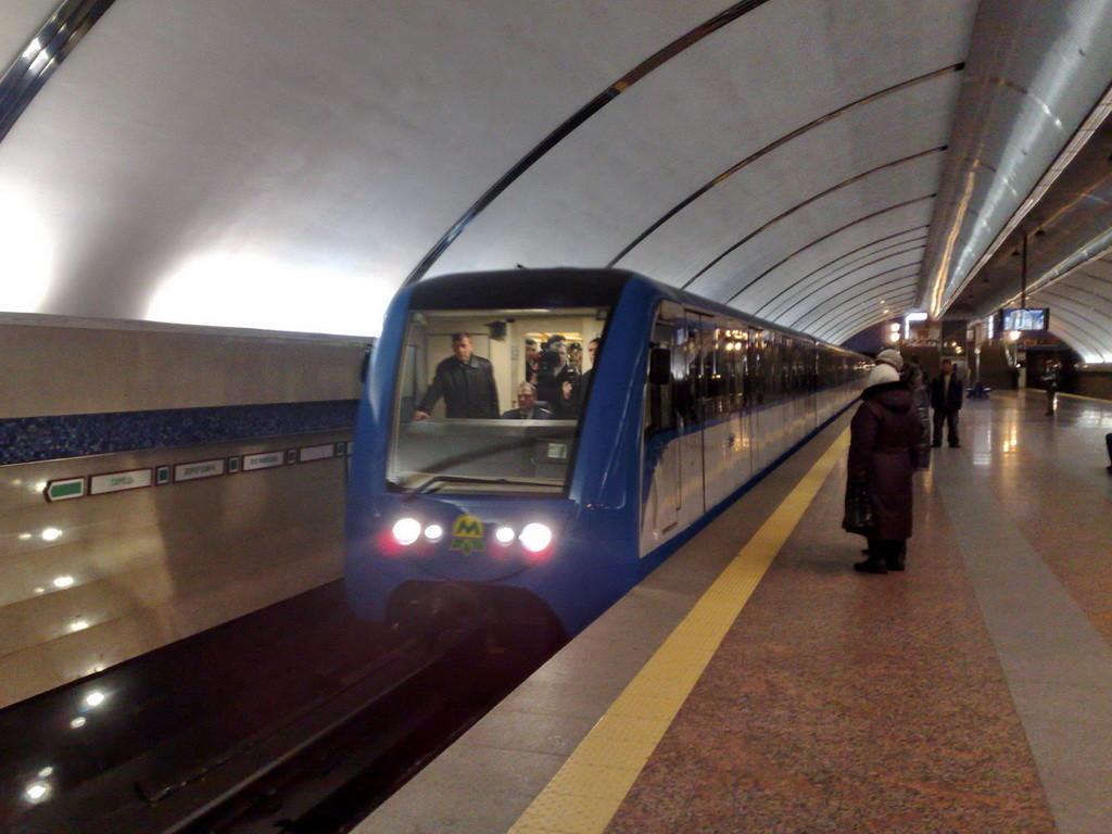 Керівництво КП Київський метрополітен відреагувало на сьогоднішні терористичні акти в Брюсселі.