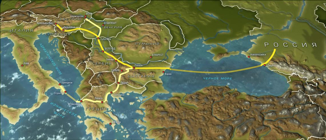 Якщо європейська сторона висловить зацікавленість, то Росія готова почати будівництво трубопровідного проекту дном Чорного моря.