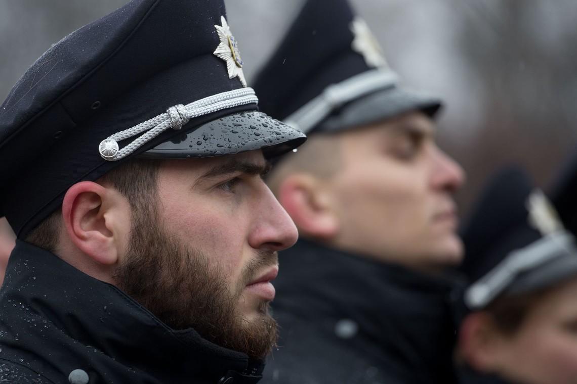 Сьогодні на вечірнє чергування в Борисполі заступить 171 поліцейський нової патрульної служби.