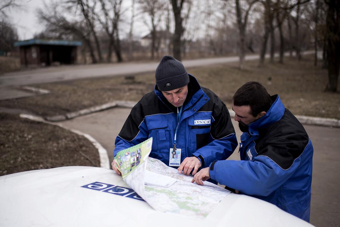 Сепаратисти знову приховують від СММ ОБСЄ важке озброєння, яке знаходиться недалеко від лінії розмежування.