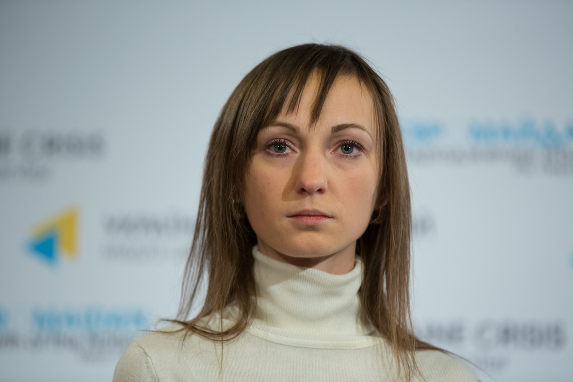 Вигнана з Самопомочі народний депутат Ірина Суслова сьогодні вступила до фракції Блоку Петра Порошенка.