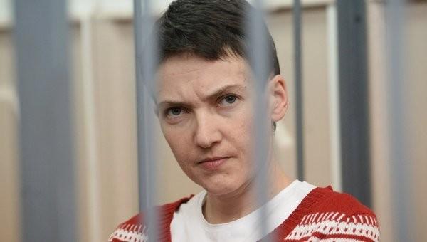 Засуджена російським судом українка Надія Савченко відсьогодні відновила сухе голодування.