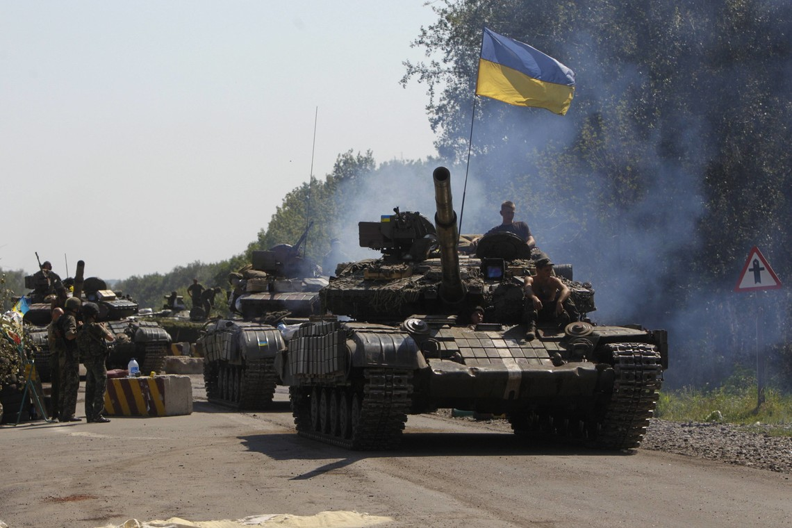 За минулу добу в зоні проведення АТО бойовики гібридної армії РФ 70 разів відкривали вогонь по силах АТО з різної зброї.