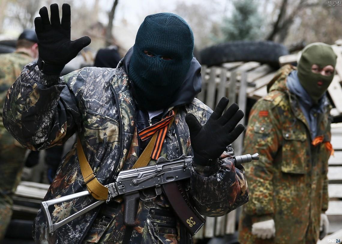 Головне управління розвідки Міноборони України заявило про концентрацію проросійських терористів біля Авдіївки.