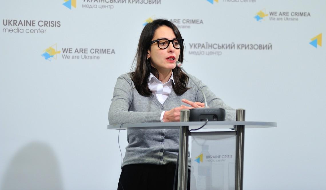 За словами Хатії Деканоїдзе, дії Генпрокуратури жодним чином не пов'язані з майбутнім держави та європейськими цінностями.
