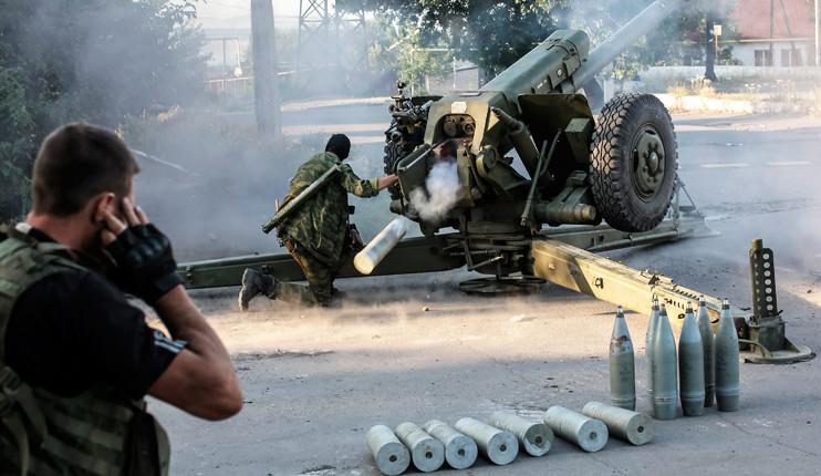 Проросійські бандформування продовжують порушувати режим припинення вогню та відводу важкої зброї.