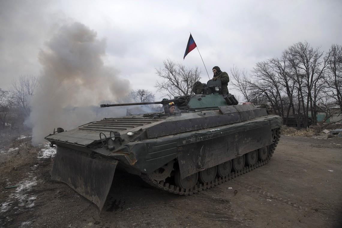 Проросійські бандформування рекордною кількістю обстріляли позиції сил українських військових на Донбасі.