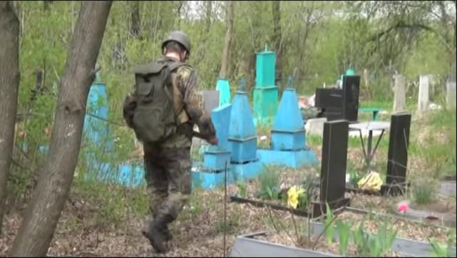 СБУ спільно з НГУ та Державною службою надзвичайних ситуацій запобігли теракту на кладовищі в Попасній.