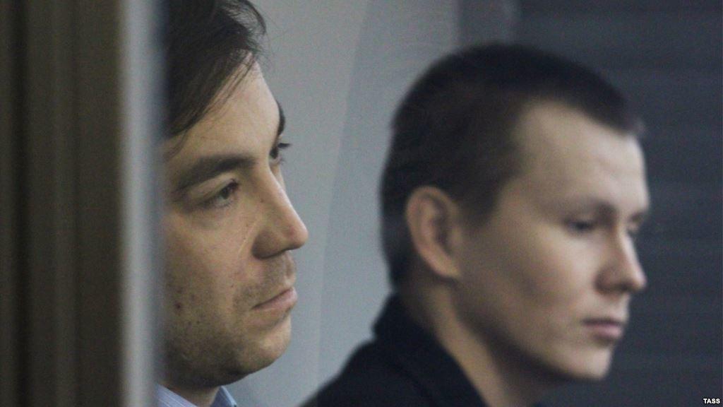 У Києві Голосіївський районний суд оголосив вирок російським диверсантам-членам ГРУ РФ Александрову та Єрофеєву.