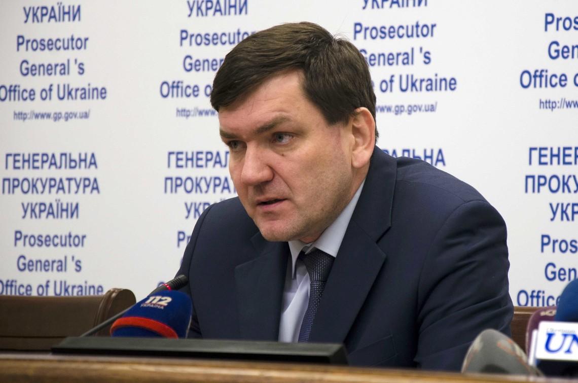Генпрокуратура готує повідомлення про підозру керівнику Управління спеціальних розслідувань ГПУ Сергію Горбатюку.