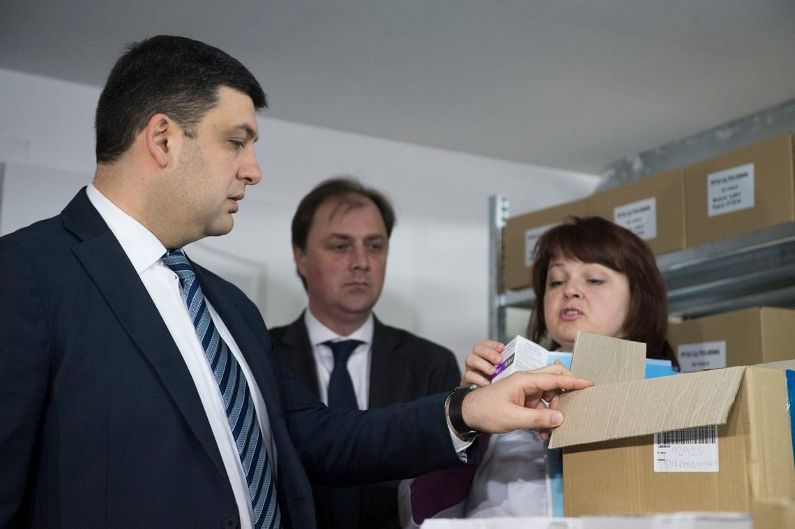 Прем'єр-міністр України Володимир Гройсман заявив про перші результати демонополізації фармринку.