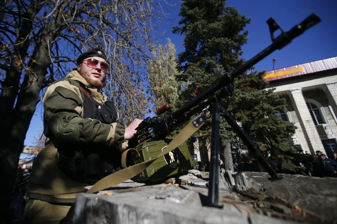 Проросійські угрупування обстріляли українські позиції в Правдівки із забороненої Мінськими домовленостями артилерії 152 міліметрів.