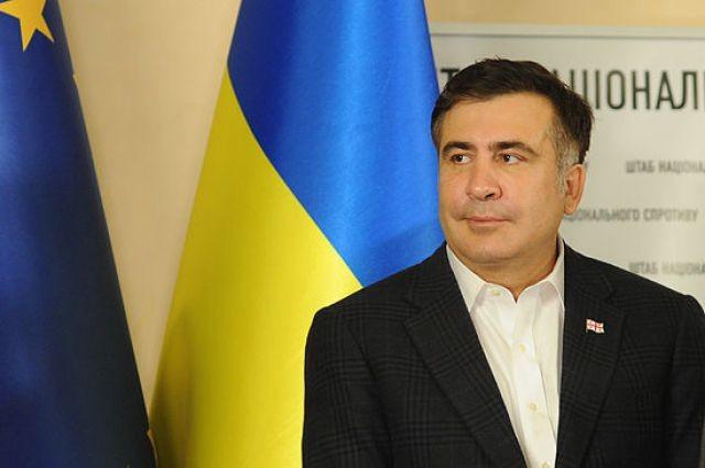 Голова Одеської ОДА Міхеіл Саакашвілі заявив, що зустрічався вчора ввечері з Петром Порошенко.