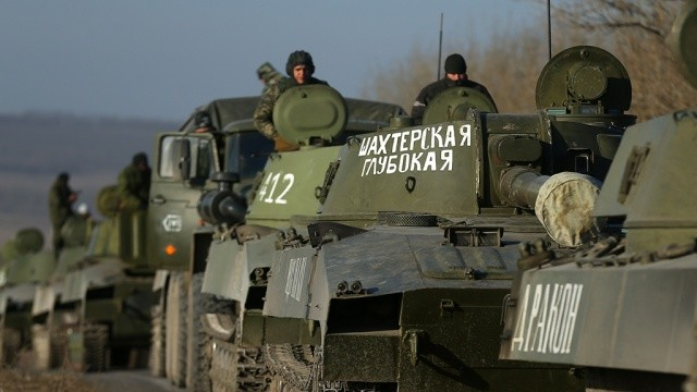 Головне управління розвідки Міноборони України зафіксувало прибуття на Донбас техніки, зброї, боєприпасів і військових із Росії.