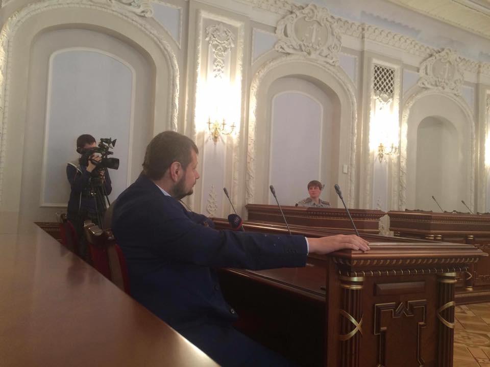 Колегія адміністративної палати ВСУ визнала незаконним рішення парламенту про арешт нардепа Ігоря Мосійчука.