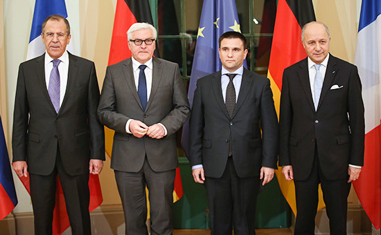 Сьогодні в Берліні голови МЗС України, Росії, Німеччини та Франції проведуть переговори про ситуацію на Донбасі.