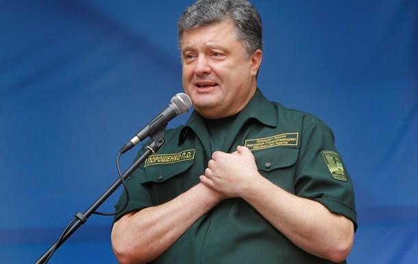 Президент України Петро Порошенко в 2014 році надав Збройним силам 350 мільйонів гривень особистого прибутку.