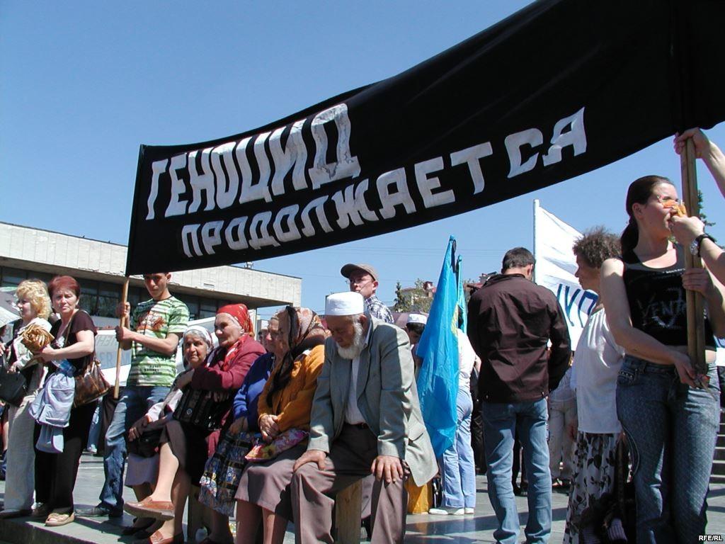 Нардеп Рефат Чубаров заявив, що окупанти заборонили кримським татарам проводити акції до 72-х роковин депортації свого народу.