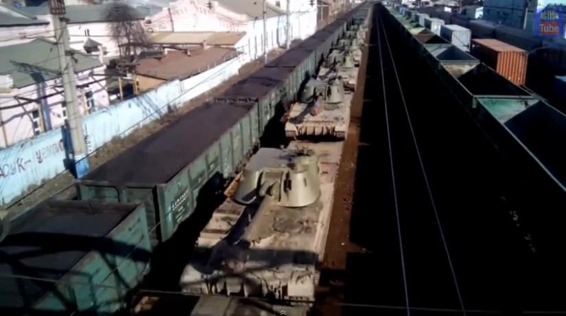Розвідка виявила місця складування боєприпасів і ремонту військової техніки з використанням цивільної інфраструктури Донбасу.