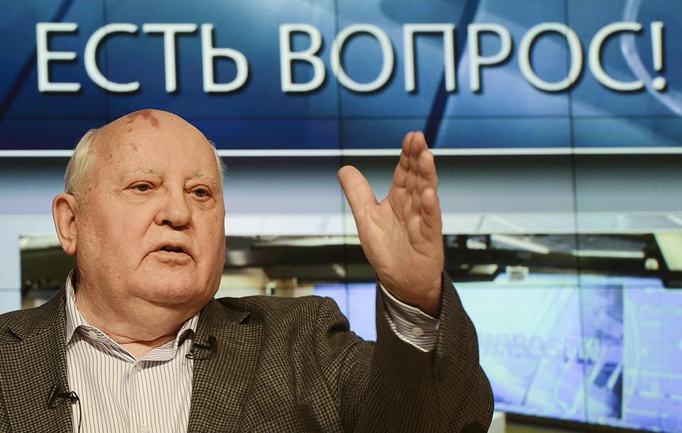 Сьогодні буде відправлений запит на ім'я Представництва ЄС в Україні з пропозицією заборонити Михайлу Горбачову в'їзд до країн Євросоюзу. Горбачов також буде внесений до чорних списків і в Україні.