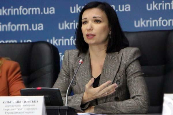 Ольга Айвазовська розповіла про своє бачення поліцейської місії ОБСЄ, яка працюватиме на території Донбасу.