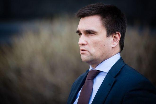 Міністр закордонних справ України Павло Клімкін назвав головну мету збройної місії ОБСЄ на Донбасі.