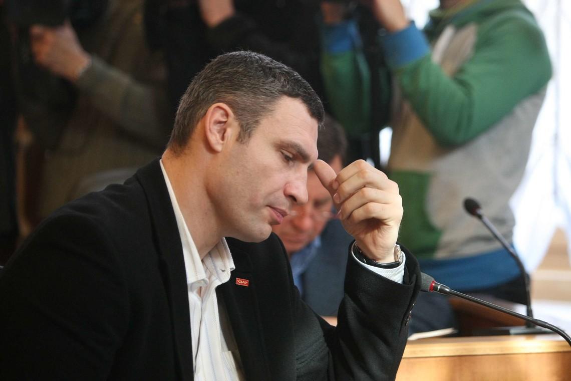 Міський голова Києва Віталій Кличко не встиг вчасно відкрити велотрек до дня міста, хоча й обіцяв.