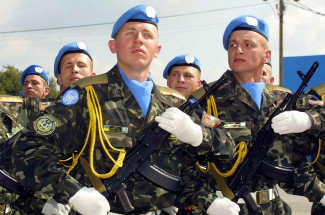 Міністерство оборони України має намір переоснастити миротворців за стандартами НАТО на суму 500 млн грн.