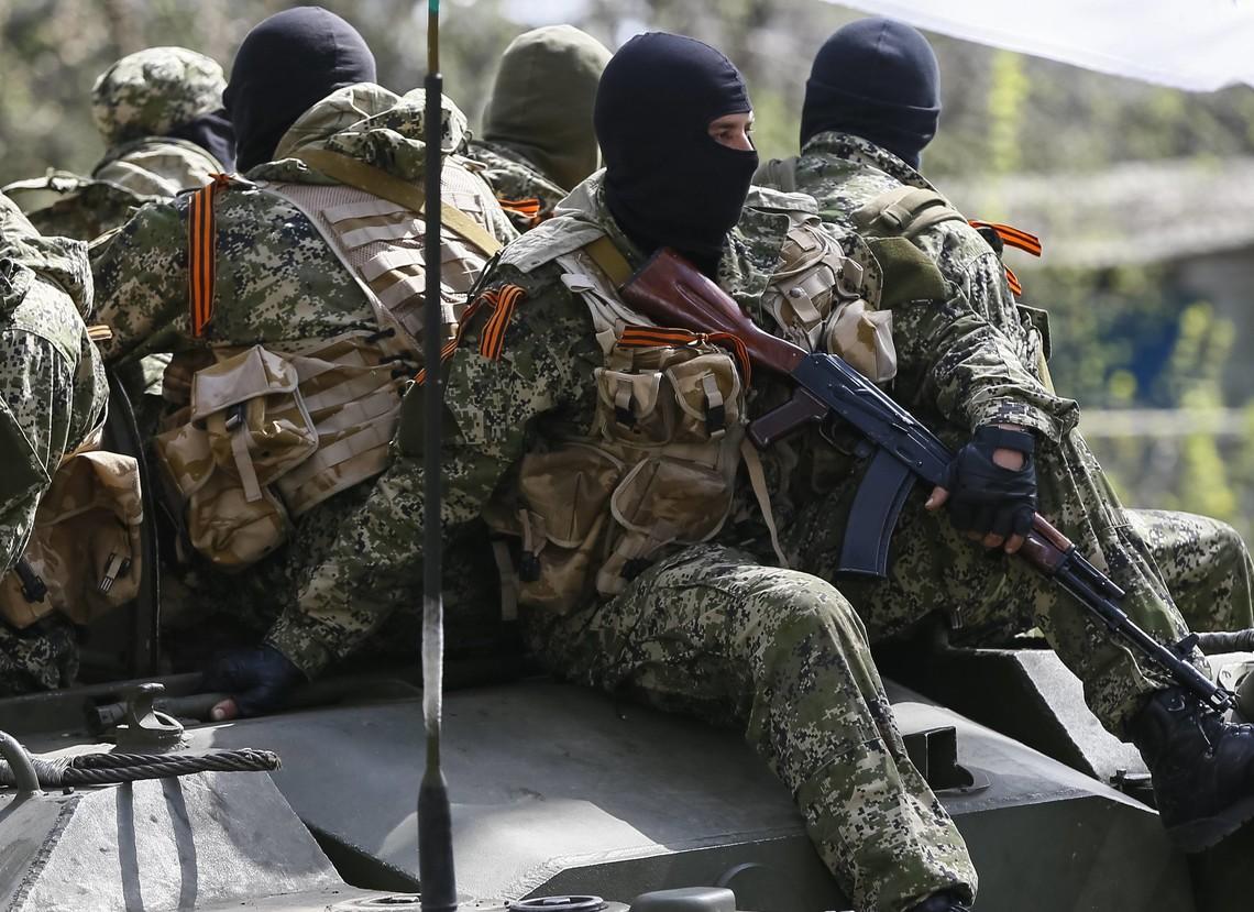 ДРГ бойовиків так званих республік намагалася вдертися в тил позицій Збройних сил України в Мар'їнці.
