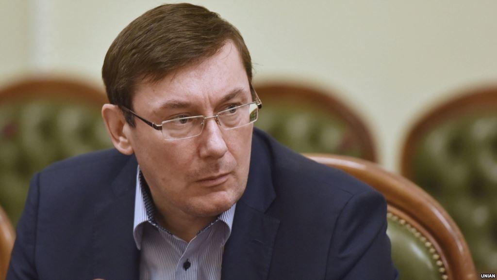 На посаді глави МВС Луценко передав до рук Жебрицького чотири людини, причетних вбивства Гонгадзе.