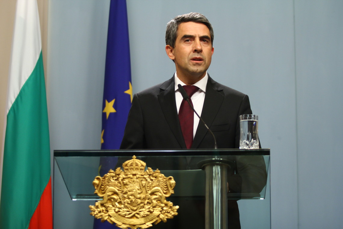 Президент Болгарии выступил в Европарламенте с обвинениями против РФ