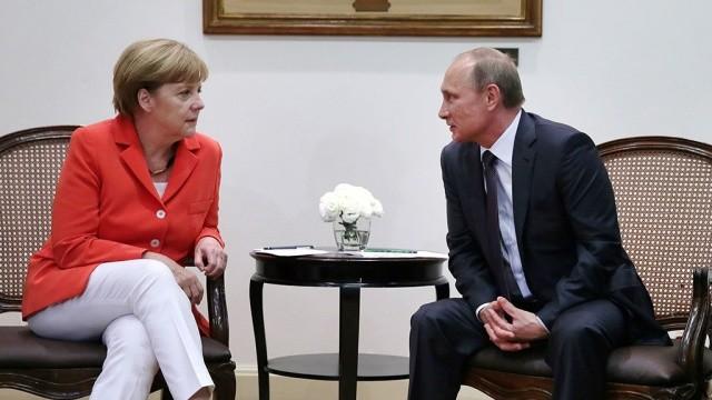 Канцлер Німеччини вважає, що Євросоюз має прагнути до створення в майбутньому спільного економічного простору з Російською Федерацією.