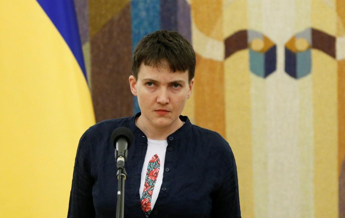 Народний депутат України від фракції Батьківщини Надія Савченко заявила, що через півроку після виведення військ РФ із Донбасу там можна проводити вибори.