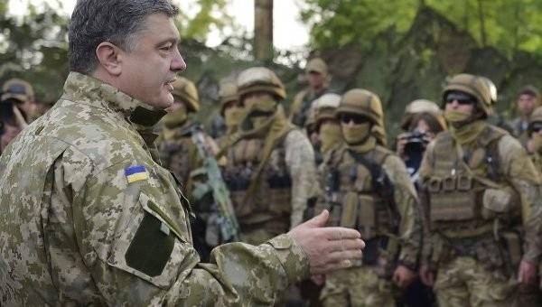 Президент від повів на запитання бійців Національної гвардії про те, коли їм дадуть можливість отримати бойовий досвід.