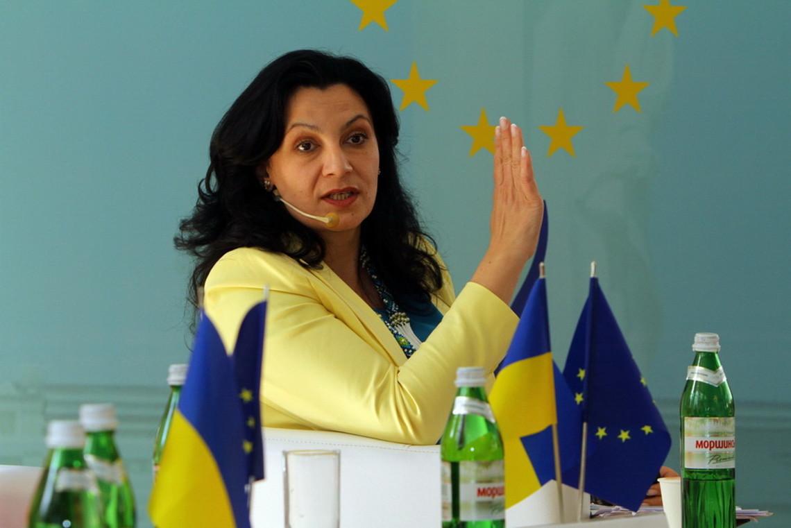 Віце-прем'єр-міністр із питань європейської та євроатлантичної інтеграції Іванна Климпуш-Цинцадзе не виконала першу обіцянку.