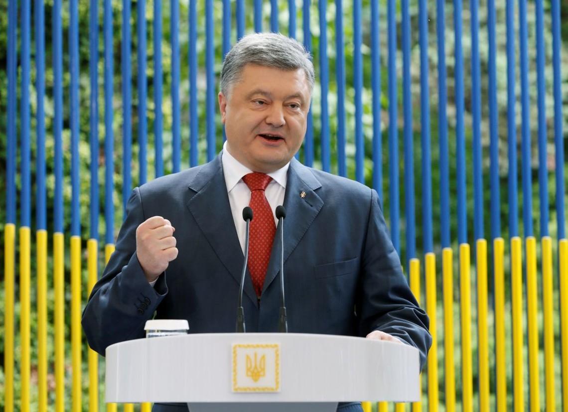 Російсько-терористичні війська не змогли розв'язати війну на півдні України завдяки зусиллям військово-морського флоту, вважає Президент України.