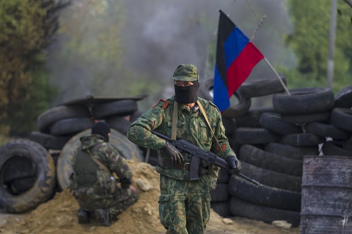 Штаб АТО: русские оккупанты ведут огонь из152-мм артиллерии