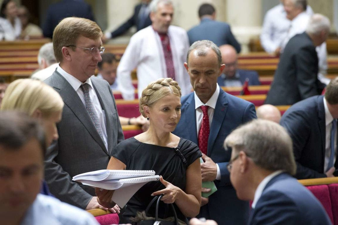 Керівник фракції Всеукраїнського об'єднання Батьківщини Юлія Тимошенко не виконала чергову популістську обіцянку.