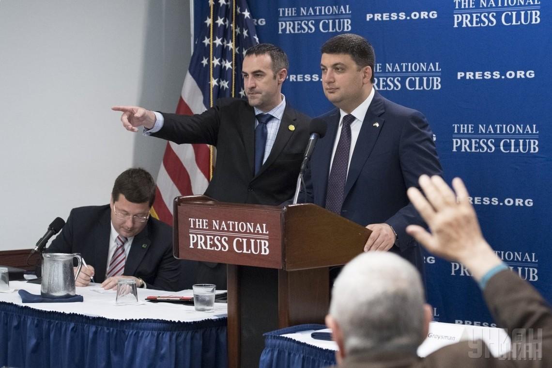 Україна і США детально обговорили можливості підтримки американською стороною процесу створення Офісу супроводу інвестицій при прем'єр-міністрі України.