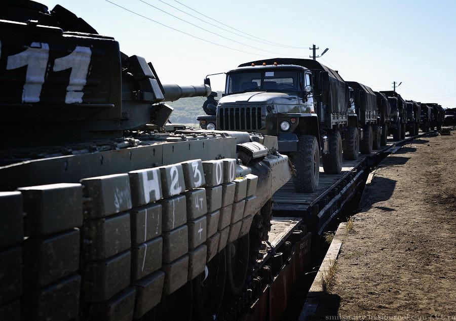 У Головному управлінні розвідки розповіли про нові російські поставки бойовикам озброєнь і танків.