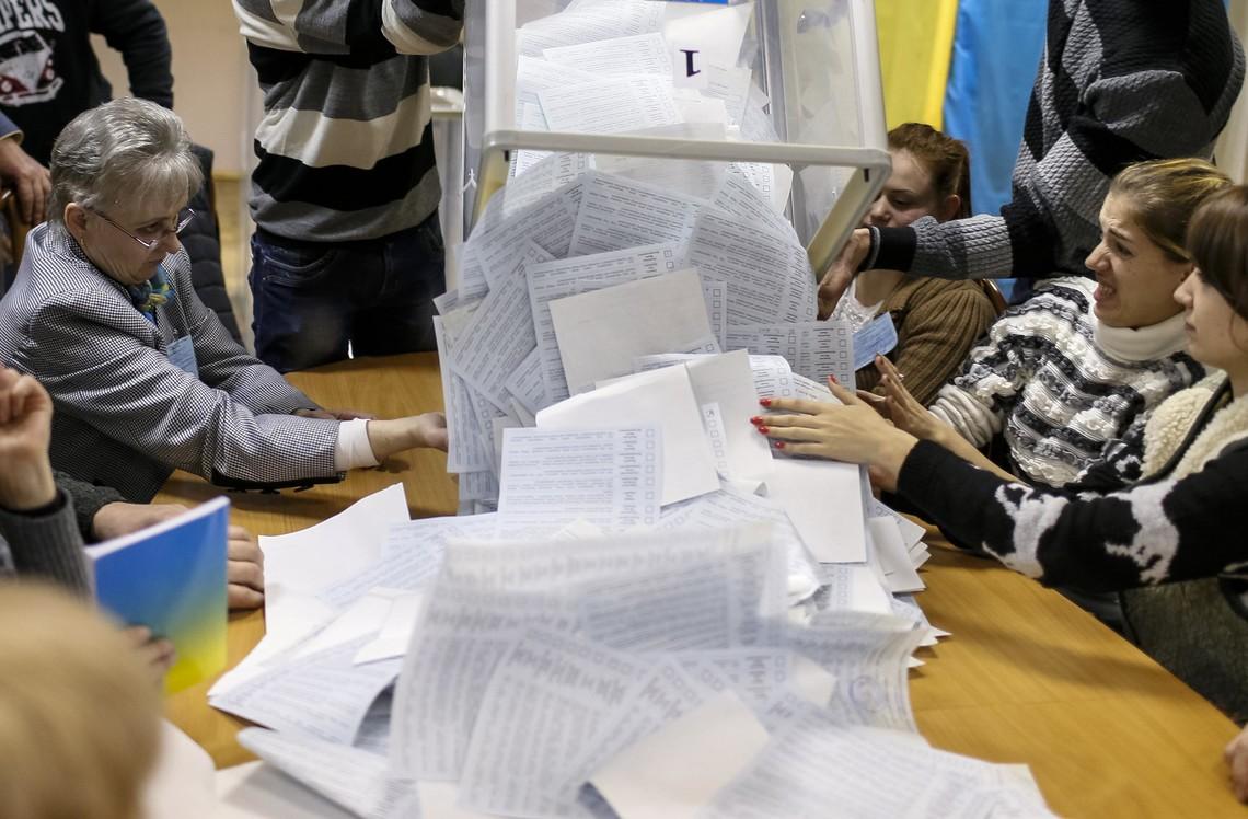 Центрвиборчком закінчив підрахунок голосів у всіх семи округах, де проходили довибори до Верховної Ради.