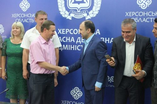 На сьогодні в Херсонській області багато іранських бізнесменів займаються підприємницькою діяльністю й задоволені її результатами.